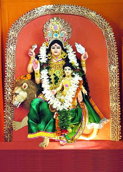 Skanda Mata - the Fifth Form of Navadurga