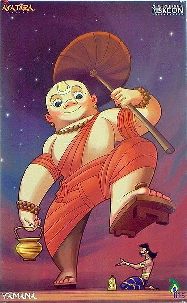 Vamana - Fifth Incarnation of Lord Vishnu