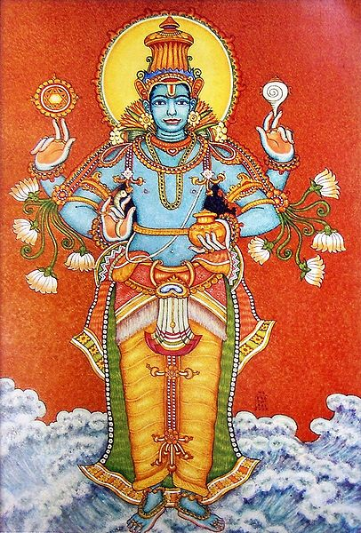 Dhanvantari - Hindu God of Medicine