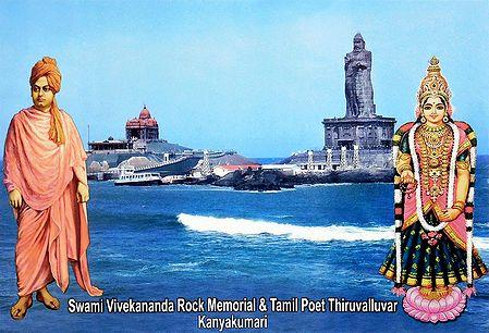 Vivekananda Rock Temple and Thiruvalluvar Statue