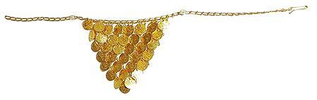 Golden Jhalar Kamarband Only for Front