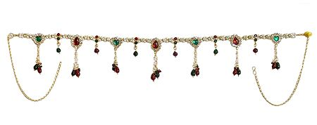 Stone Studded and Beaded Kamarband