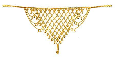 Golden Jhalar Kamarband (Only for Front)