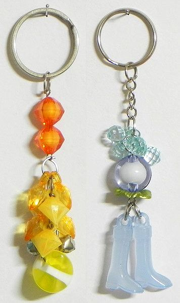 Sun and Moon - Set of 2 Key Chains