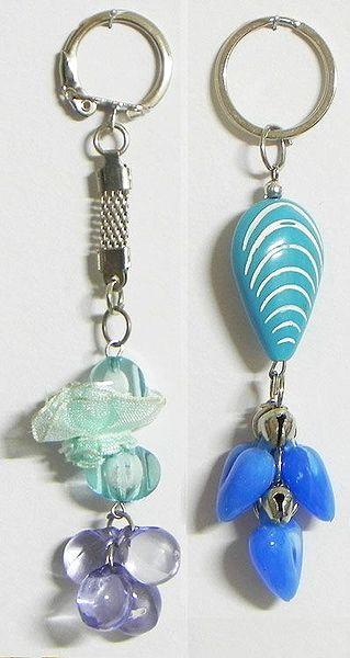 Peace - Set of 2 Acrylic Key Chains