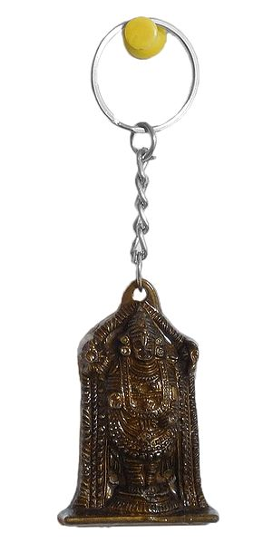 Acrylic Balaji Key Ring