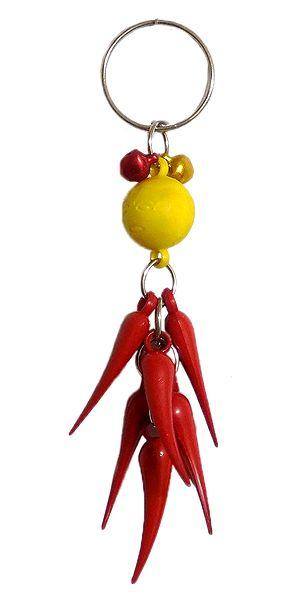 Lemon Chilli  Key Chain