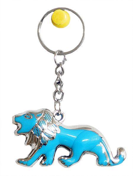 Acrylic Lion Key Chain