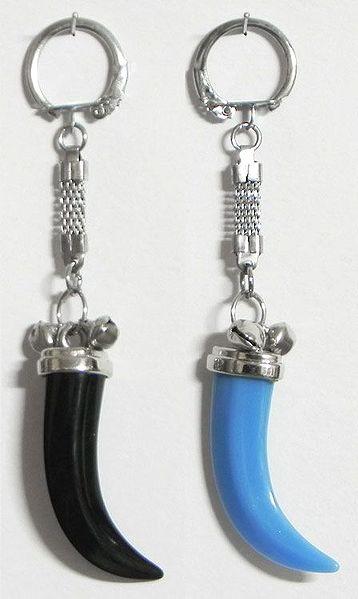Set of 2 Acrylic Kirpan Key Rings