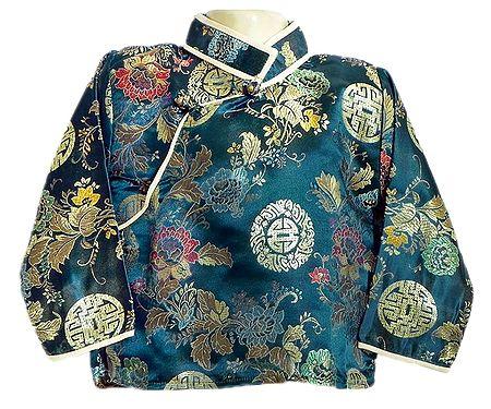 Brocade Silk Finish Full Sleeve Kurta