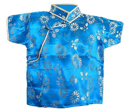 Brocade Silk Finish Half Sleeve Kurta