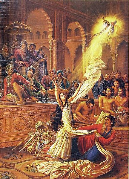 Complete Surrender to Krishna - Vastraharan of Draupadi