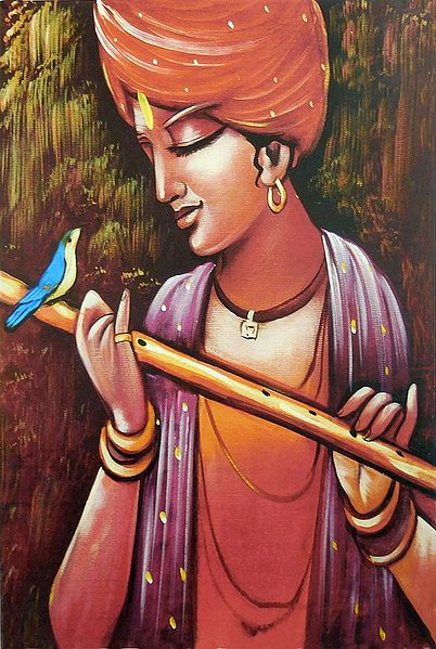 Bird Lover Krishna