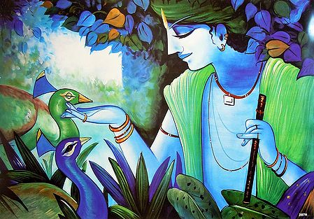 Animal Lover Krishna