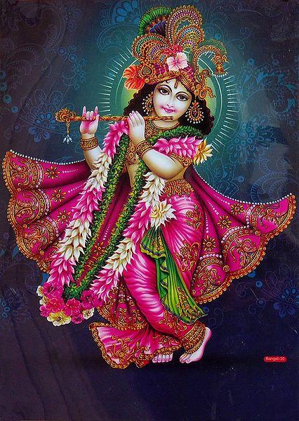 Krishna in Rajvesh