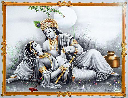 The Secret Rendezvous of Radha Krishna