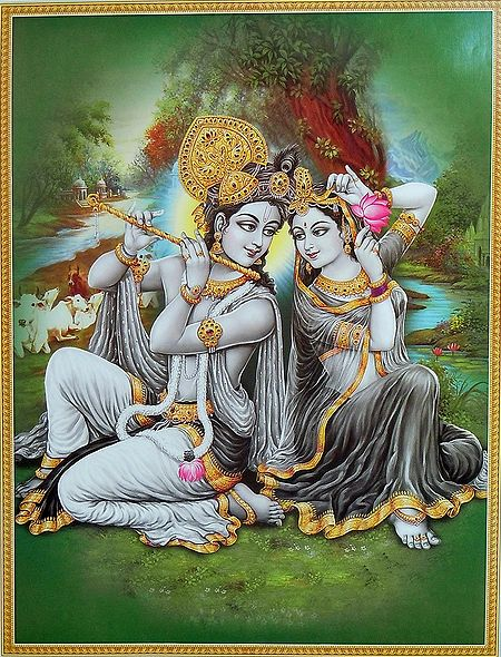 Secret Rendezvous of Radha Krishna