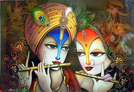 Radha Krishna -The Divine Lovers
