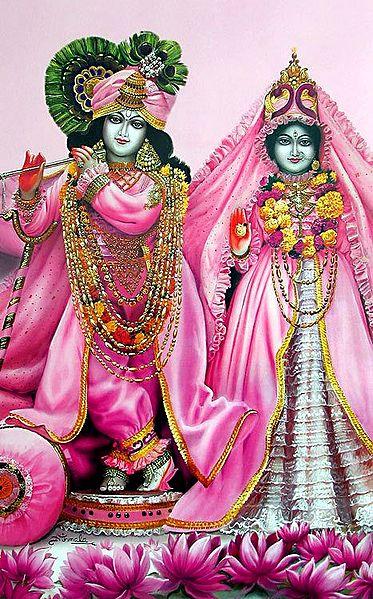 Radha Krishna - The Divine Lovers