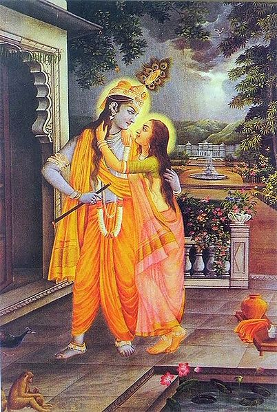 Secret Rendevous of Radha Krishna