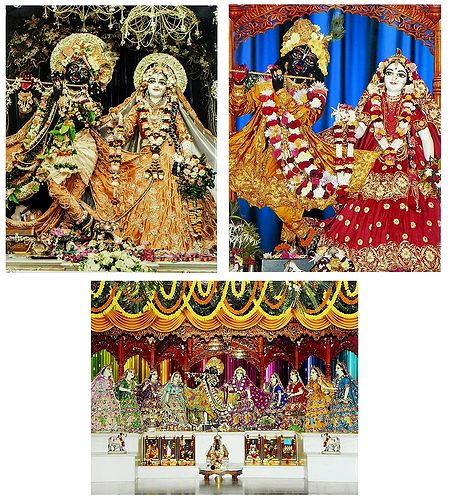 Radha Krishna - Set of 3 Photo Print