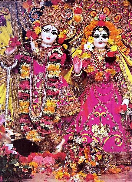Radha Madhav - Photo Print