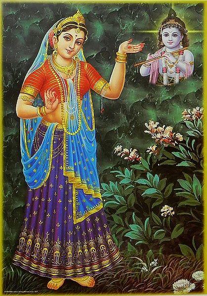 Yashoda Thinking of Young Krishna