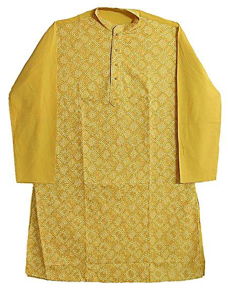 Embroidered Full Sleeve Long Kurta
