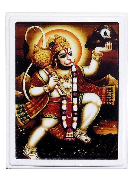 Lord Hanuman Plug-on Night Lamp with Adaptor