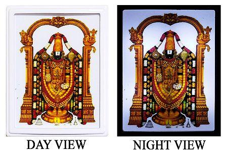 Lord Balaji Plug-on Night Lamp with Adaptor