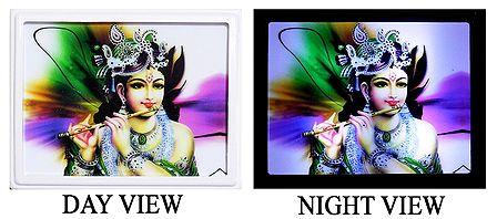 Murlidhar Krishna Plug-on Night Lamp with Adaptor