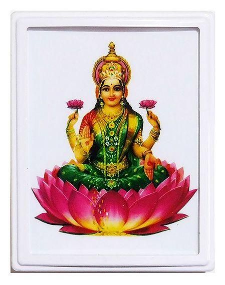 Goddess Lakshmi Plug-on Night Lamp with Adaptor