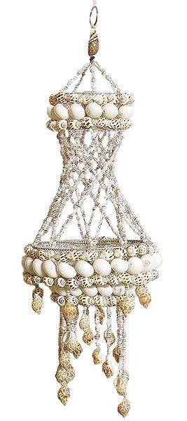 Shell Jhalar Lamp Shade
