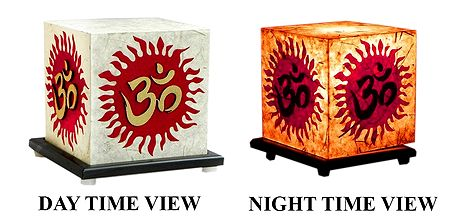 Arylic Lamp Shade with Om with Adapter