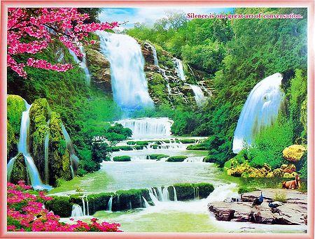 Dancing Waterfall