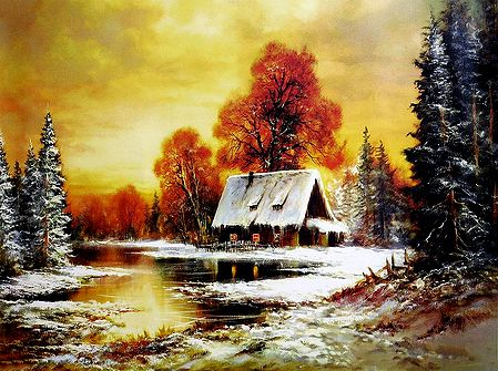 Winter in Countryside