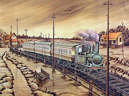 A Train from Yesteryears