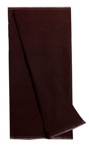 Dark Brown Cotton Lungi