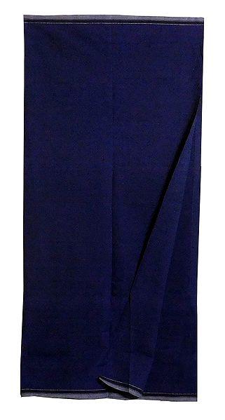 Dark Blue Cotton Lungi