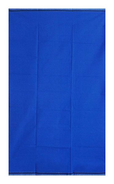 Dark Blue Plain Cotton Lungi