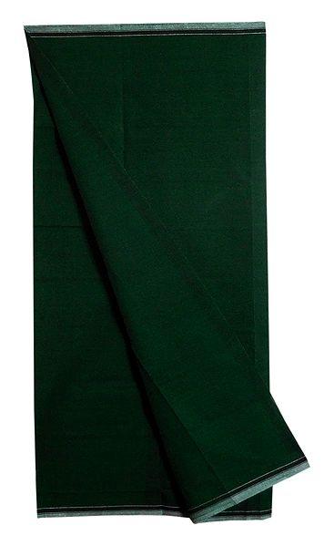 Dark Green Plain Cotton Lungi
