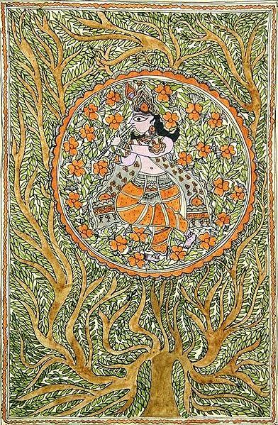 Krishna - Center of the Cosmic Tree