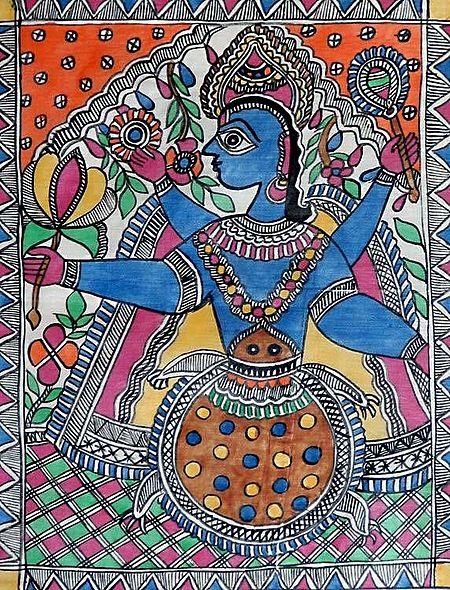 Kurma avatar - Incarnation of Vishnu