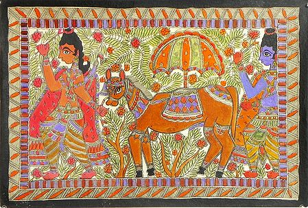 Lava and Kusha Capture Ashvamedh Horse