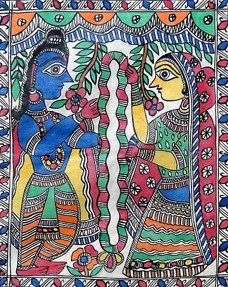 Marriage of Arjuna and Draupadi