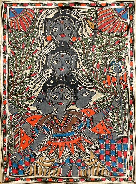 Panchmukhi Shiva