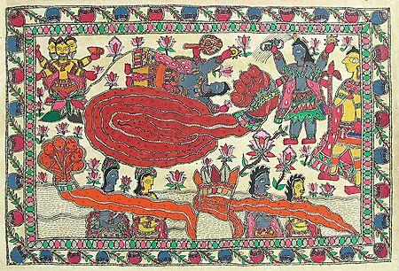 Anantashayan of Vishnu