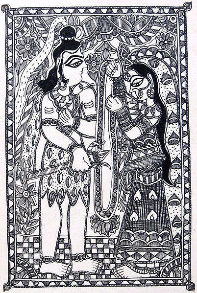 Wedding of Shiva Parvati