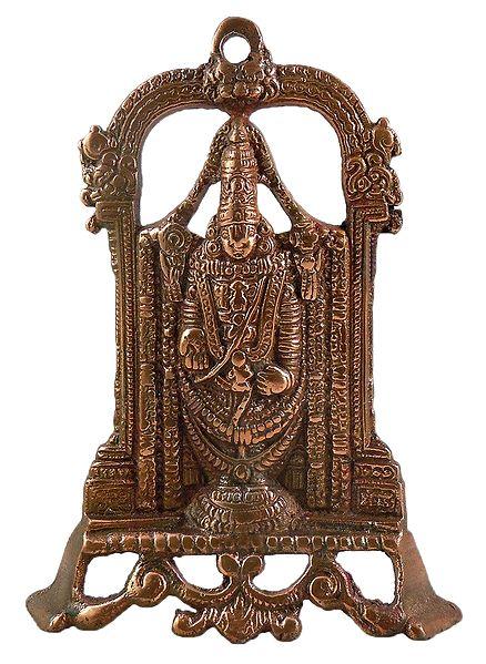 Lord Venkateshwara - Wall Hanging-Cum-Stand