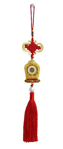 Divya Mantra and Kaalchakra - Double Sided Car Hanging